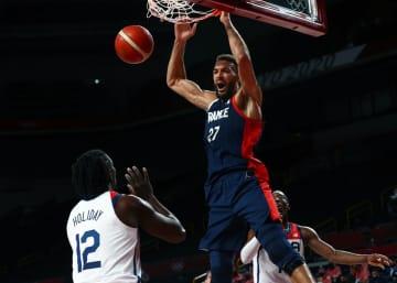 バスケ男子、仏が5大会ぶり銀 3年後、パリ五輪にも追い風 画像1