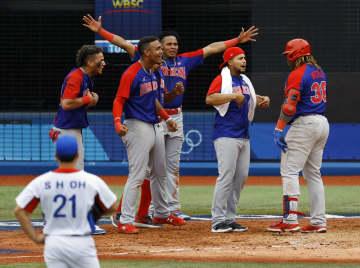 五輪野球、韓国はメダル逃す ドミニカとの3位決定戦で 画像1