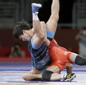 レスリング、乙黒拓斗が金メダル 初出場で頂点、日本勢4個目 画像1