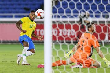 ブラジル、スペイン下し2連覇 サッカー男子・7日 画像1