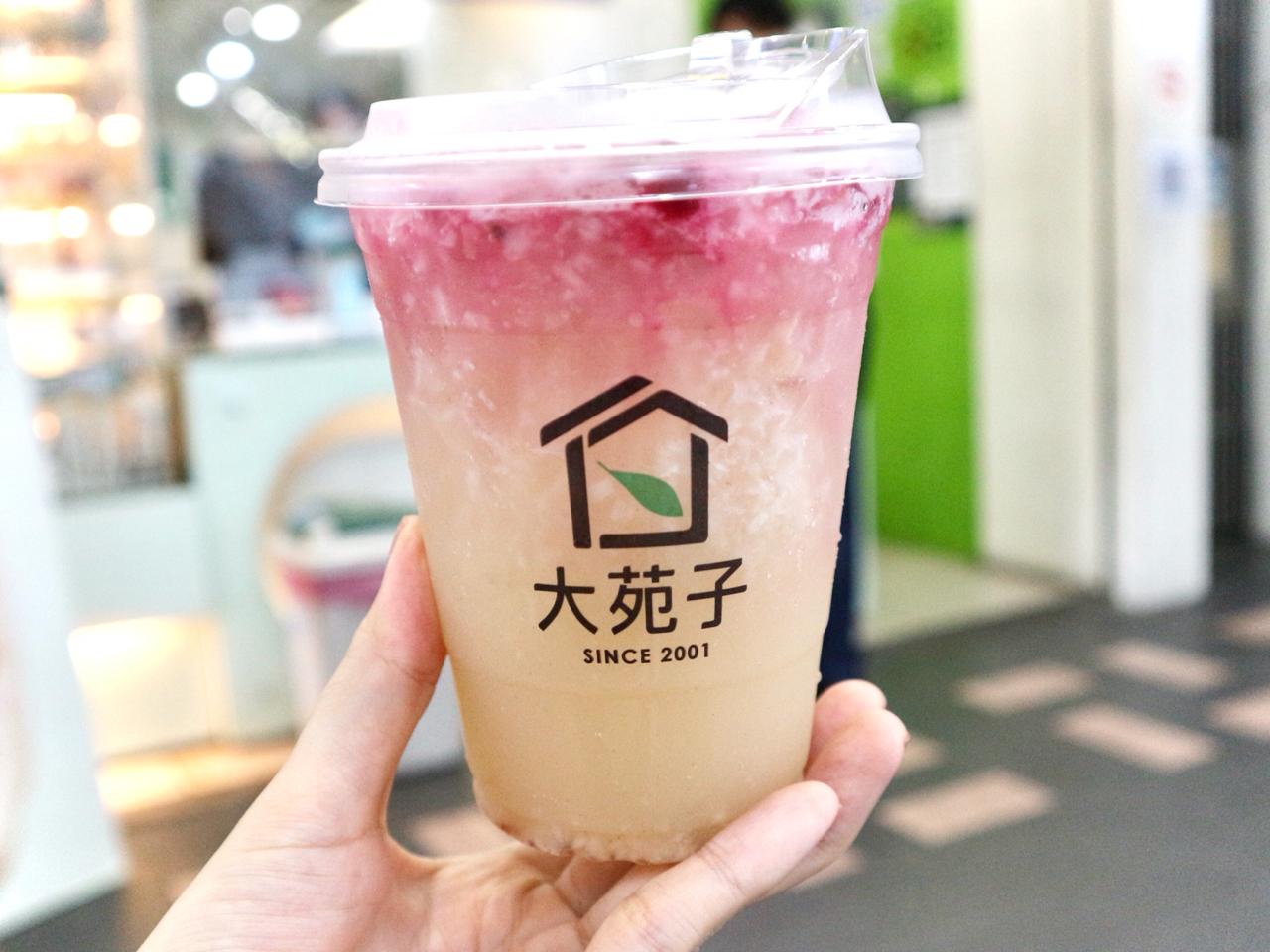 【台湾】ライチドリンクに薔薇がふわり!フルーツドリンクの人気店「大苑子」 画像5