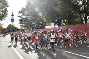 マラソン、棄権の割合は大幅増 男子は開始時間、変更せず 画像1