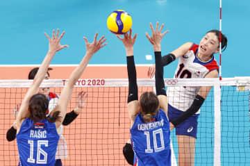 韓国エースの金軟景、代表引退へ 女子バレーボール、メダル届かず 画像1