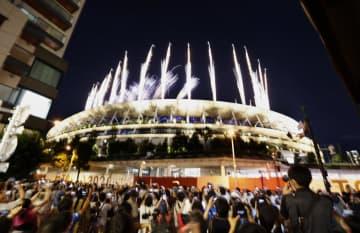 東京五輪が閉幕、感染3倍に拡大 日本、金メダル最多27個 画像1