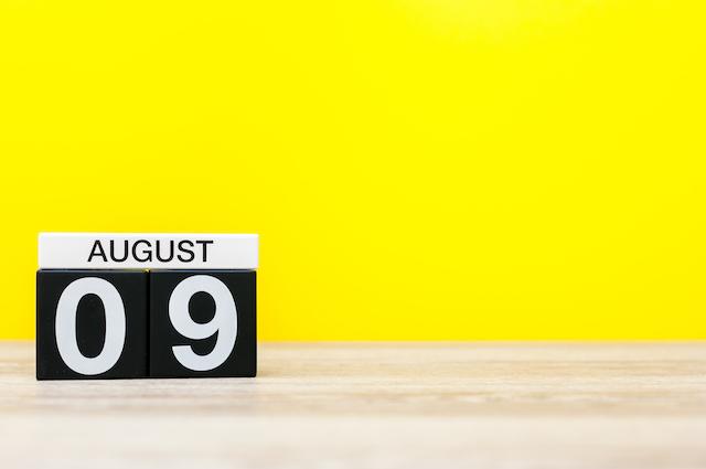 今日は何の日?【8月9日】 画像1