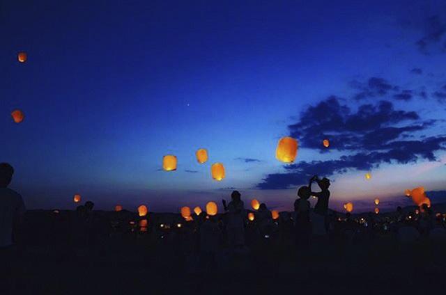 願いを書いて夜空へ浮かべよう!ランタンフェス開催【つま恋リゾート彩の郷】 画像1