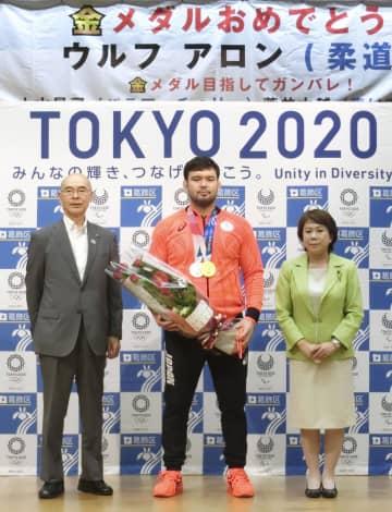 ウルフが栄冠報告、東京・葛飾 柔道100キロ級でのV2目標 画像1