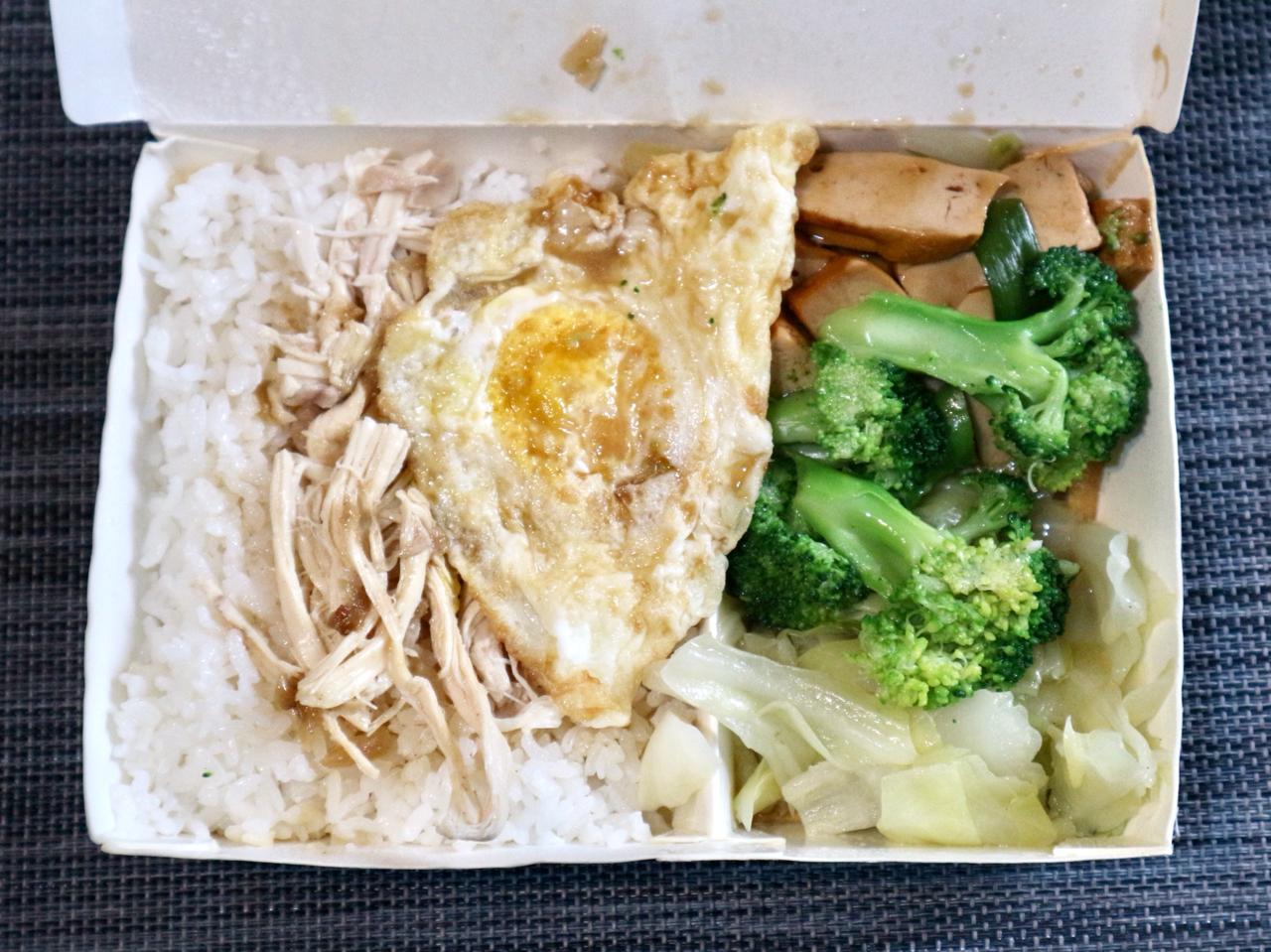 【台湾】魯肉飯よりあっさりで食べやすい「鶏肉飯」!台北の人気店「梁記嘉義雞肉飯」のテイクアウト限定弁当を実食 画像6
