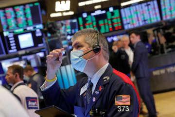 NY株反発、最高値更新 インフラ法案可決を好感 画像1