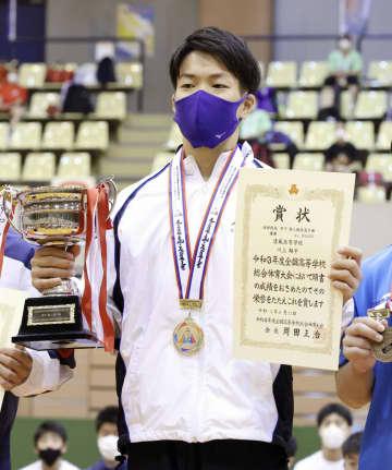 体操個人総合は川上、宮田が優勝 全国高校総体第18日 画像1