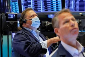 NY株最高値、220ドル高 インフレ加速懸念の後退で 画像1