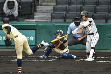 明桜―帯広農はノーゲーム 全国高校野球選手権第3日 画像1