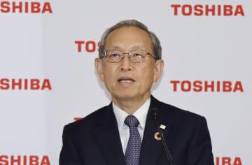東芝、株主の権利妨害認める 綱川社長が記者会見 画像1