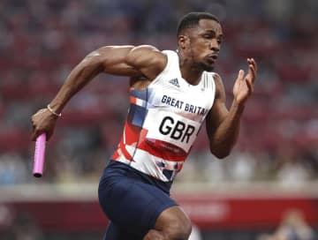 五輪銀、英国ウジャから禁止薬物 陸上400mリレー、第1走者 画像1