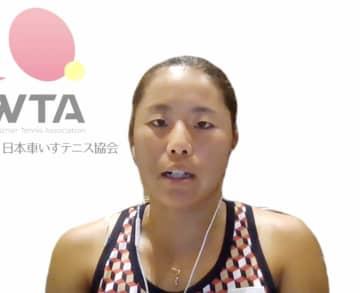 上地結衣「金を目標に戦う」 東京パラ車いすテニス女子 画像1