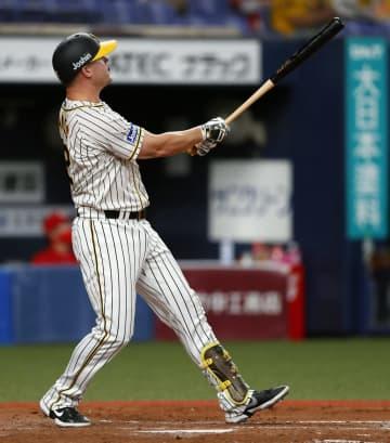 神9―3広(14日) 阪神、サンズと大山が2本塁打 画像1