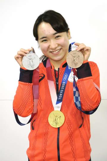 伊藤美誠「実感湧いてきた」 五輪卓球3種目でメダル 画像1