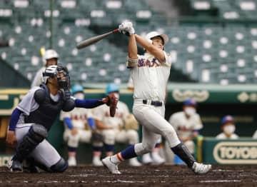 鹿島学園0―7盛岡大付 打者のスイング鋭く 画像1