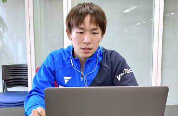 卓球丹羽「ほっとした」 東京五輪、男子団体で銅 画像1