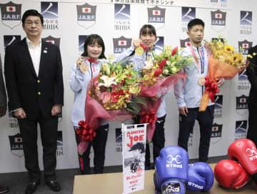 ボクシング入江ら、墨田区に感謝 競技実施の両国国技館所在 画像1