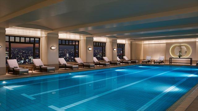 【楽天トラベル】都内で贅沢リゾート気分!東京の屋内プールがある高級ホテル16選 画像3