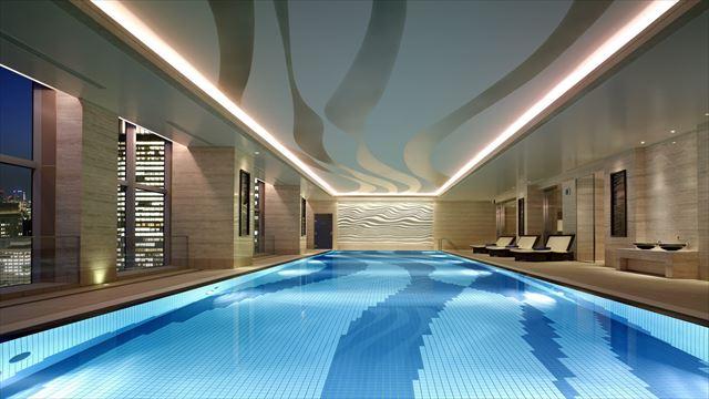 【楽天トラベル】都内で贅沢リゾート気分!東京の屋内プールがある高級ホテル16選 画像10