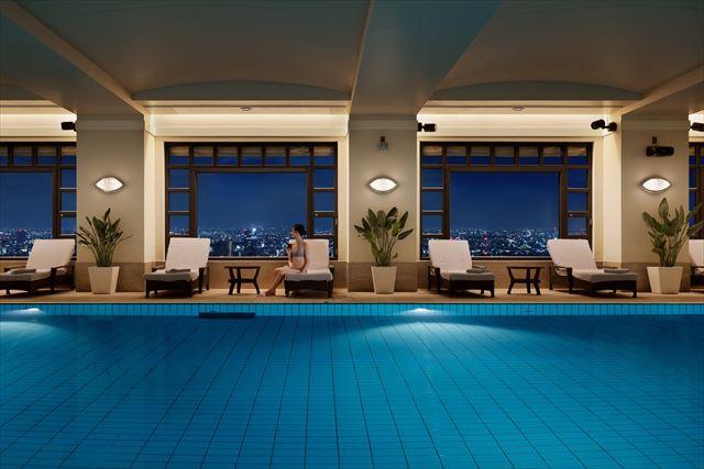 【楽天トラベル】都内で贅沢リゾート気分!東京の屋内プールがある高級ホテル16選 画像1