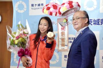 野口啓代さん、後進の指導に意欲 五輪クライミング女子で銅 画像1