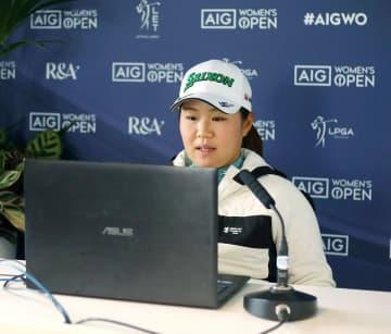 全英女子ゴルフ、畑岡ら最終調整 メジャー最終戦、19日開幕 画像1
