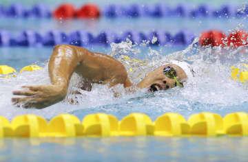 競泳五輪代表の柳本幸之介が優勝 全国高校総体第25日 画像1