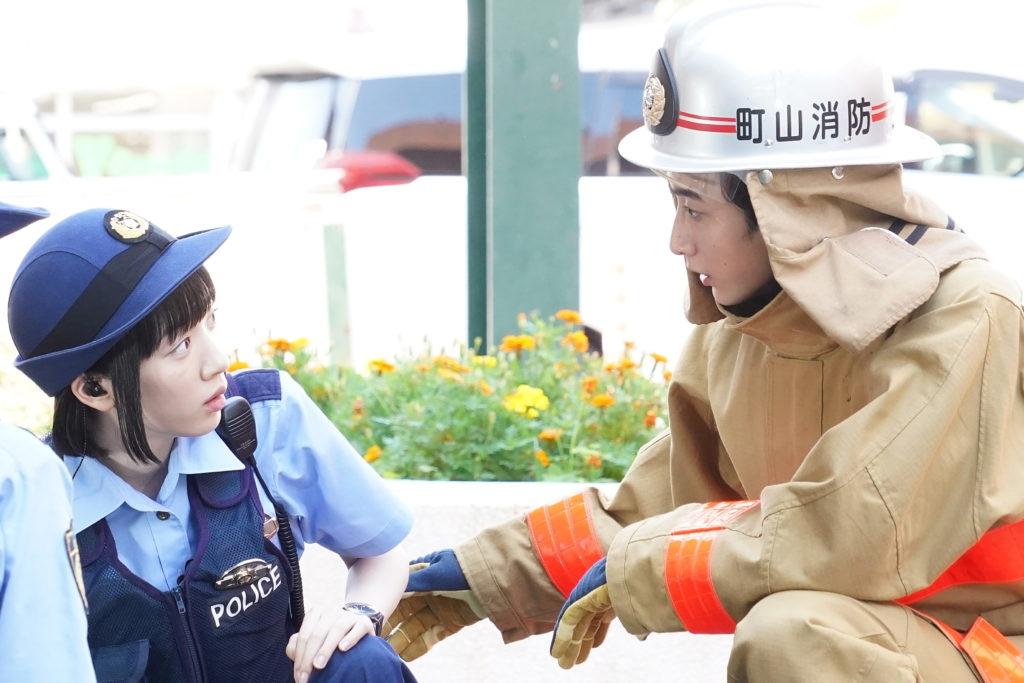 「ハコヅメ」永野芽郁が小関裕太と初デート 「救助講習で川合の恋に協力する皆がかわいかった」 画像1