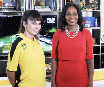 五輪女性スタッフに感謝イベント ジャマイカ大使館、金メダルで 画像1