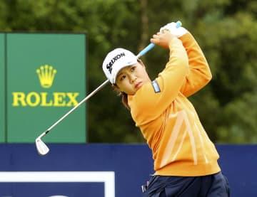 畑岡は2アンダーで好発進 全英女子ゴルフ開幕 画像1