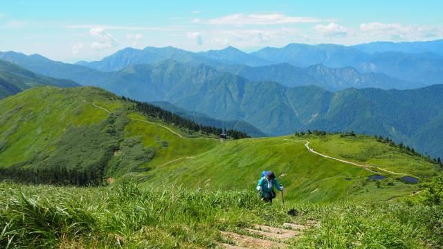 絶景と秘湯に出会う山旅(30)天空の楽園・巻機山、そして秘湯・松之山温泉凌雲閣へ 画像16