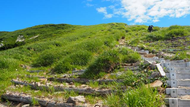 絶景と秘湯に出会う山旅(30)天空の楽園・巻機山、そして秘湯・松之山温泉凌雲閣へ 画像8