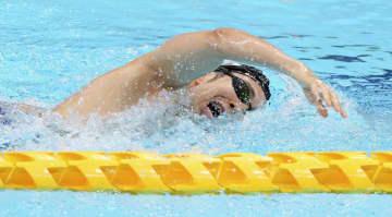 パラリンピック公式練習スタート 競泳の富田、成田ら感触確かめる 画像1