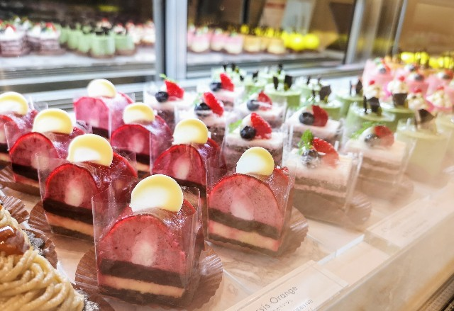 京都の「姫ケーキ」が東京へ!鼓月の洋菓子店「キニール」がカフェ併設店をオープン【東京ミッドタウン】 画像8