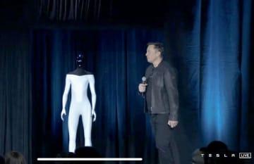テスラ、人型ロボット開発 EV技術活用、来年試作機 画像1
