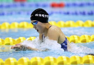競泳、五輪代表の谷川が2連覇 全国高校総体第27日 画像1