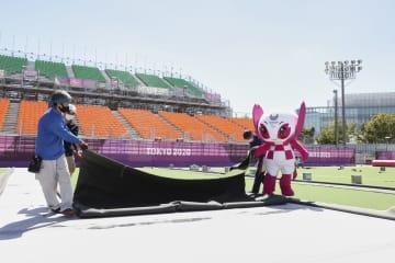 五輪からパラへ、会場衣替え 青海アーバンスポーツパーク 画像1