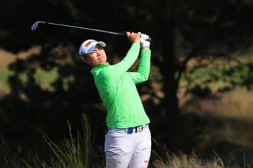 笹生5位、渋野は12位 全英女子ゴルフ第2日 画像1