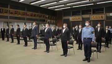 警視総監がパラ警備部隊に訓示 「日本の治安の良さ、世界に」 画像1