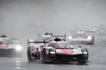 V4狙うトヨタがスタート 自動車ルマン24時間 画像1