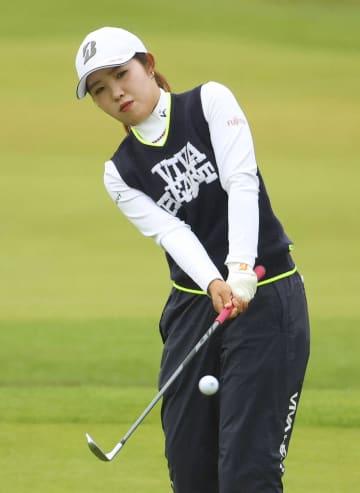 古江4打差15位、渋野18位 全英女子ゴルフ第3日 画像1