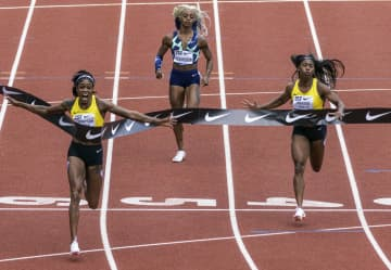 トンプソンヘラが女子100優勝 陸上のダイヤモンドリーグ 画像1