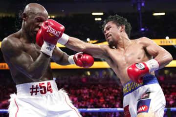 ボクシング、パッキャオ敗れる 42歳、スーパー王者との復帰戦 画像1