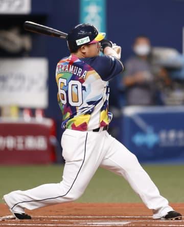 オ3―10西(22日) 中村が先制の満塁本塁打 画像1