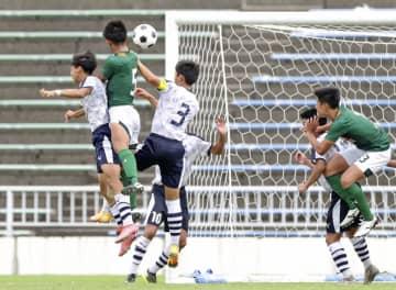 高校総体サッカー、青森山田がV 米子北を下す、第29日 画像1