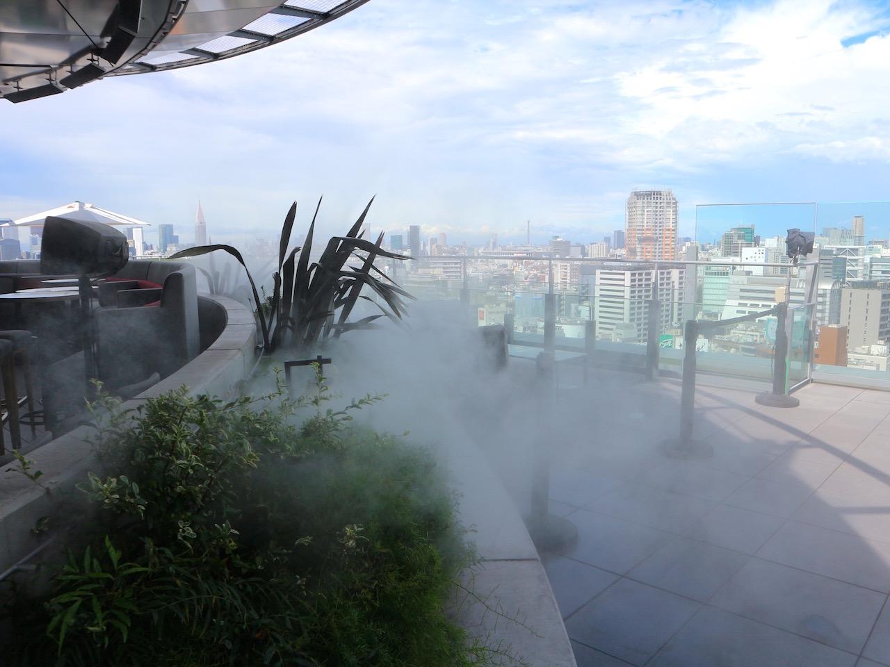 絶景&ミストで「東急プラザ 渋谷」がまるで避暑地!?買い物ついでに厳選グルメや東北のお祭り気分を満喫 画像1