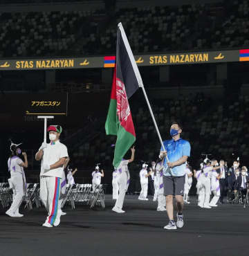 アフガン国旗も開会式入場 特別対応「連帯示す」 画像1